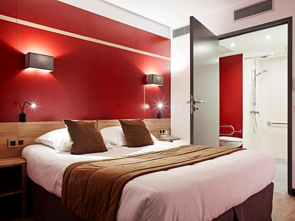 Chambres d 39 h tel 3 toiles paris median paris congr s - Hotel paris chambre 5 personnes ...